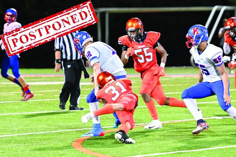 After a lengthy decision making process, the FHSAA and the School have ultimately decided to postpone the sports season for several weeks.