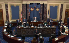 Patrick Leahy, the President Pro Tempore, presides over the second Impeachment trial of Former President Donald Trump. Trump was acquitted once again with 43 Senators not voting for a conviction.