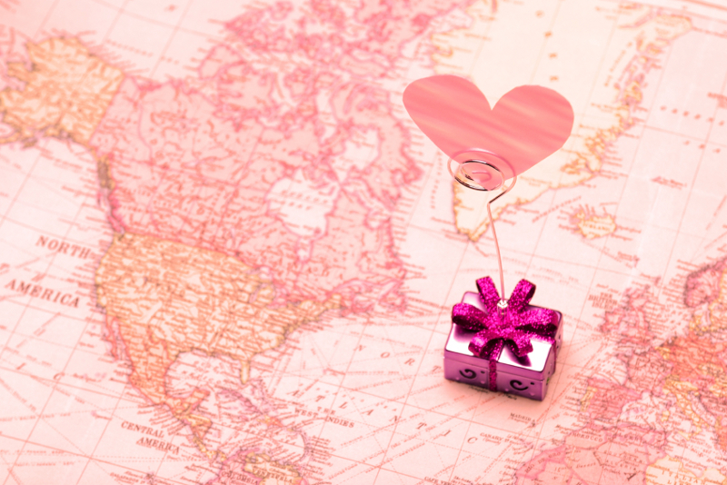 Throughout the world, Valentine's Day is celebrated in a variety of ways.