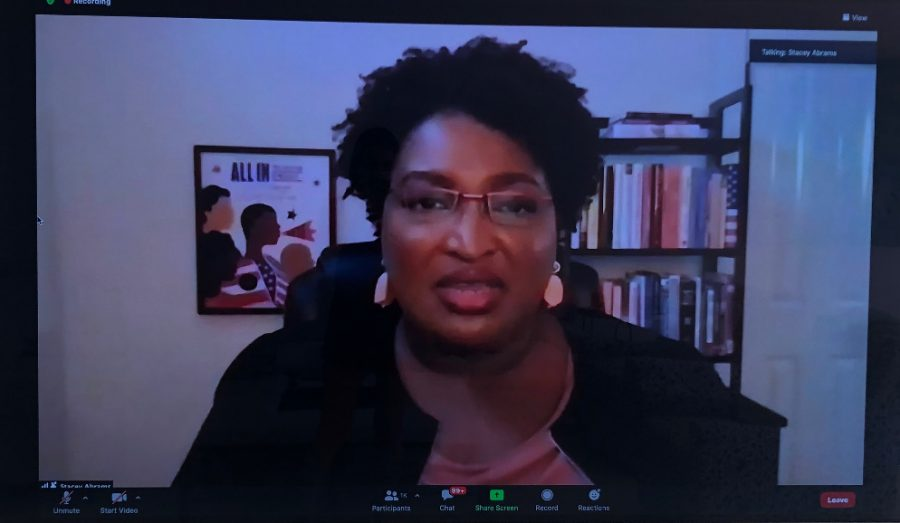 Stacey+Abrams+was+selected+as+the+keynote+speaker+for+JSA%E2%80%99s+2021+Winter+Congress.+She+talked+to+hundreds+of+young+change-makers+about+the+importance+of+service+and+humility.
