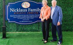 The Upper School renames its athletic fields and courts in honor of the Nicklaus Family.