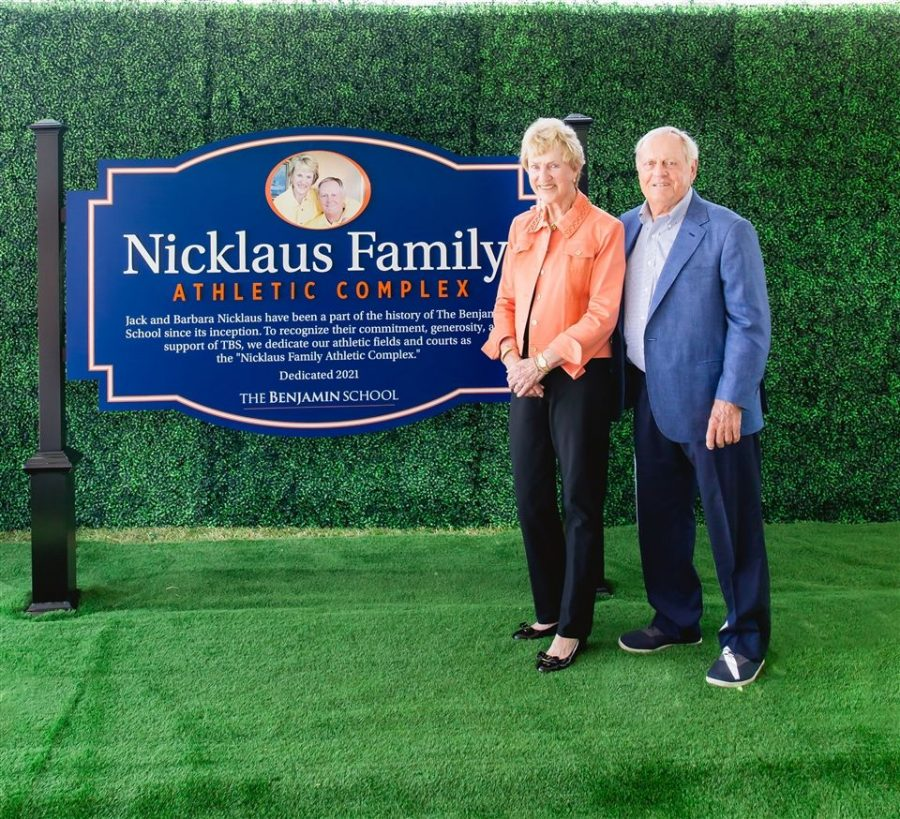 The+Upper+School+renames+its+athletic+fields+and+courts+in+honor+of+the+Nicklaus+Family.