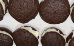 This issues delicious recipe for chocolate whoopie pies comes from Joey Palumba and the Upper School Baking Club.