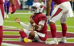 Cardinals Quarterback Kyler Murray (pictured above) is on his way to his best season to date. With the NFL back in action, Murray is leading the MVP race.